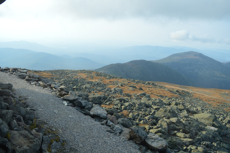 enjoy the journey mountains path
