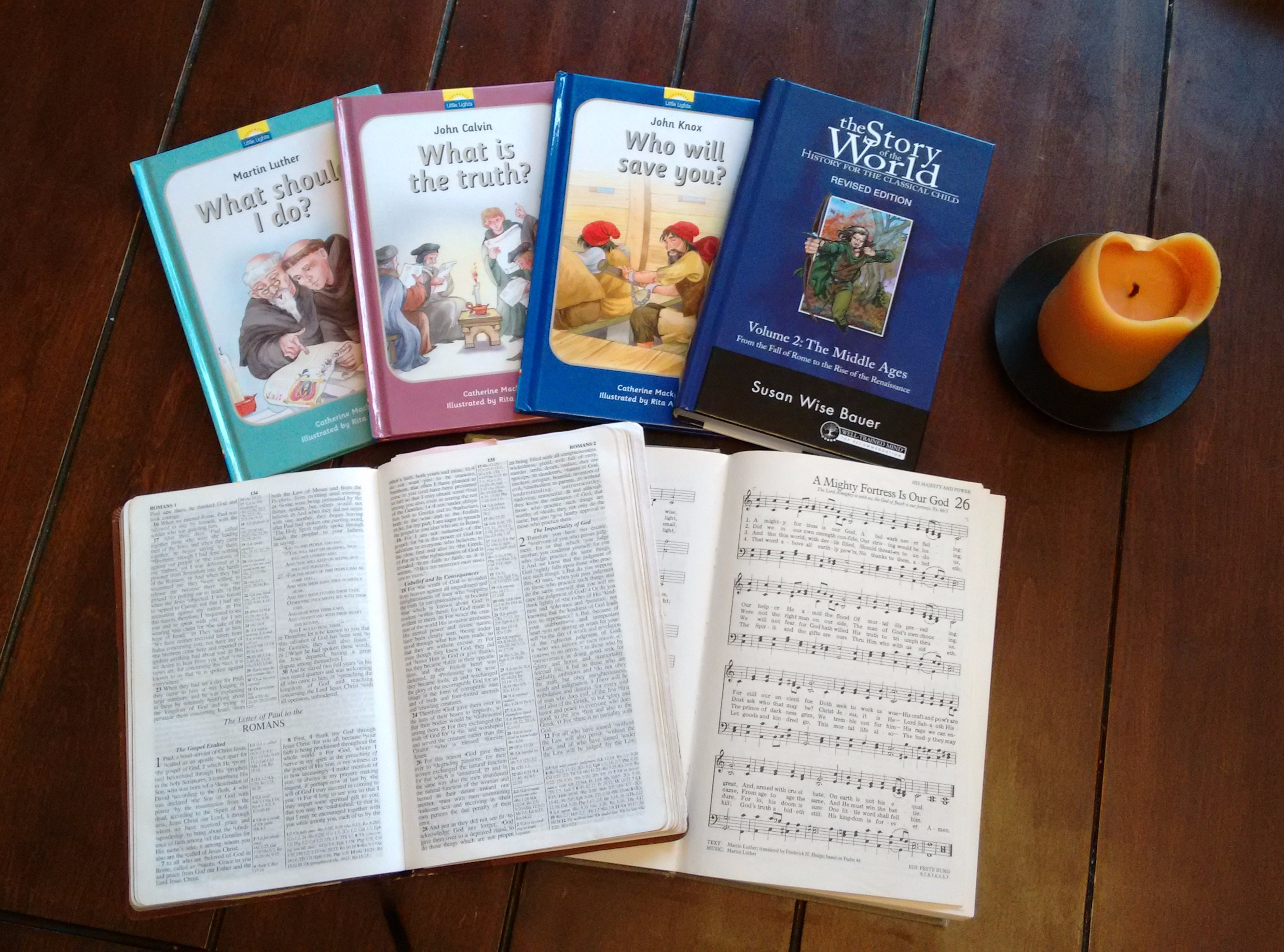 Reformation Books Hymns Romans