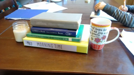 homeschool morning time books