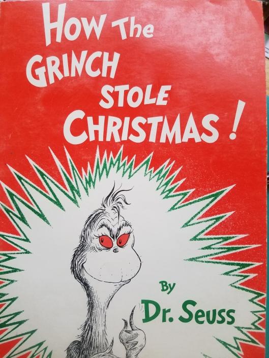Grinch book dr. seuss christmas