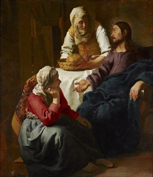 Mary Martha heart Jesus