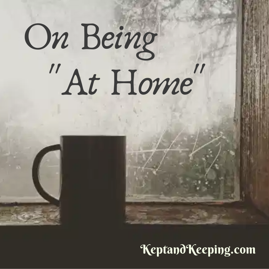 on being at home christian mom body image homemaking