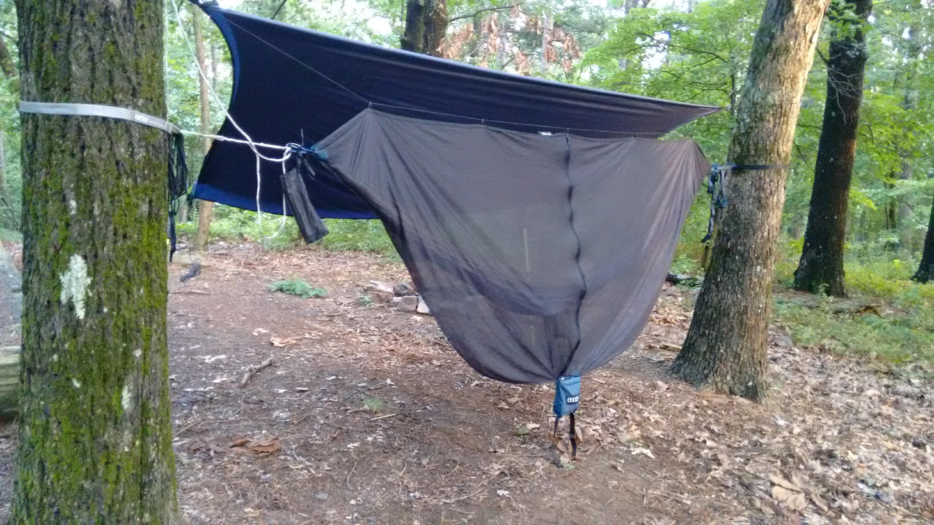 hammock backpacking Arkansas outdoors